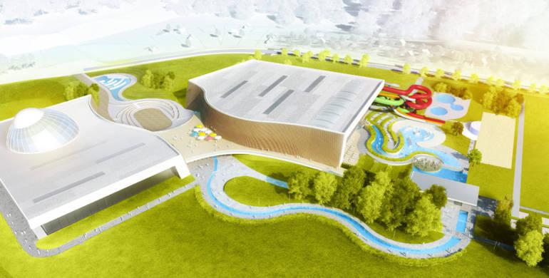 Ogłoszenie zamówienia publicznego na budowę parku wodnego