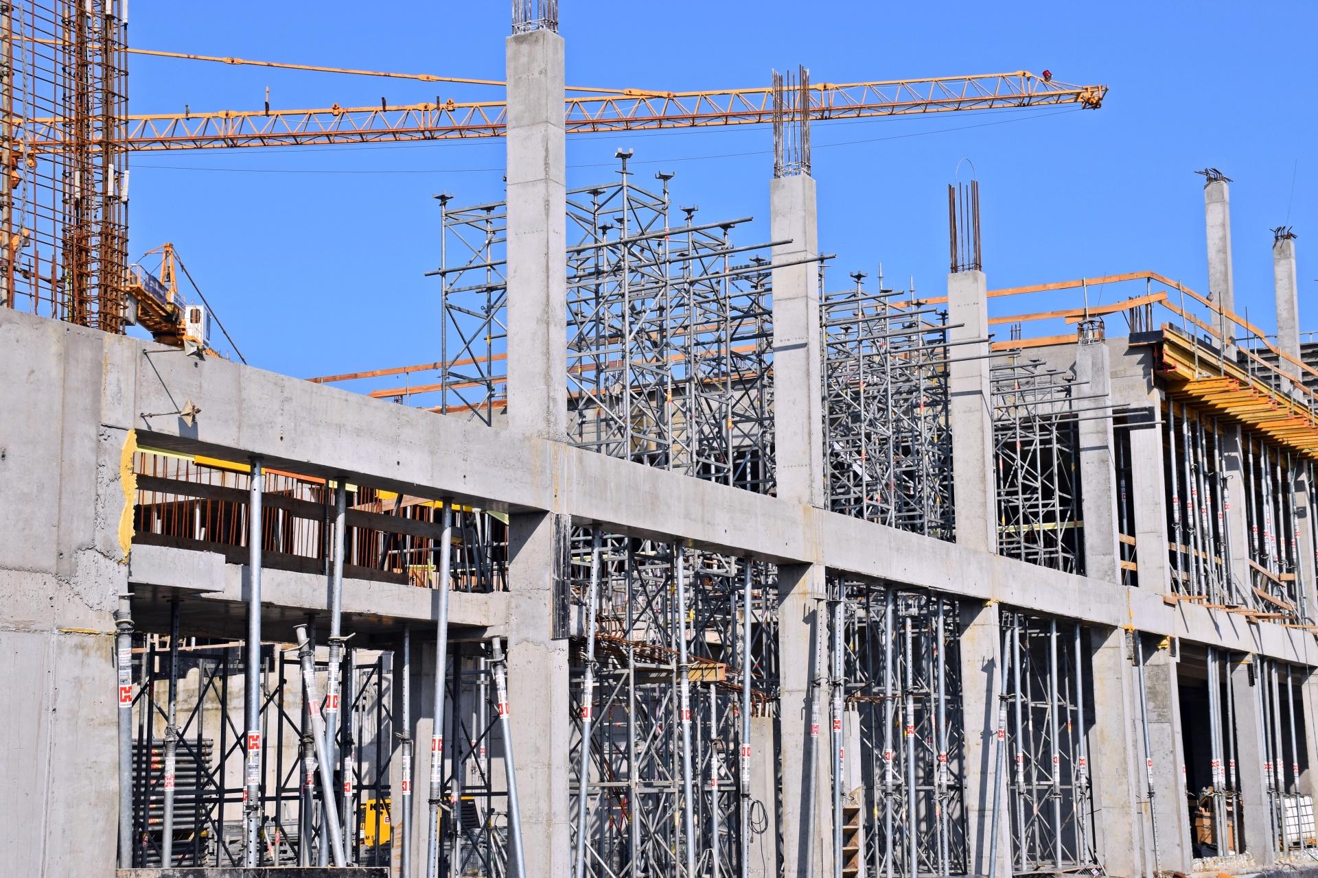 Budowa Fabryki Wody - kwiecień 2021