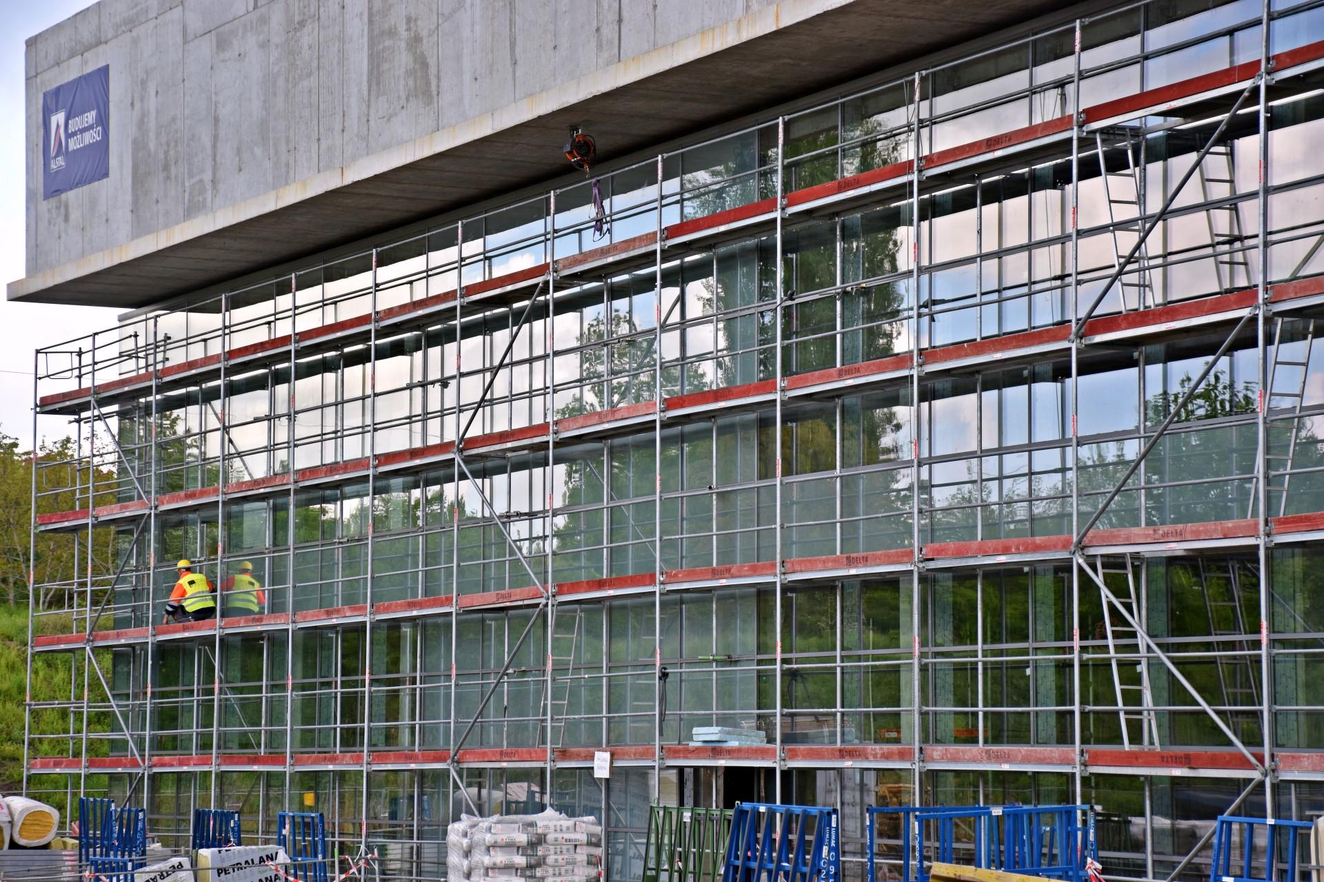 Budowa Fabryki Wody - Maj 2021