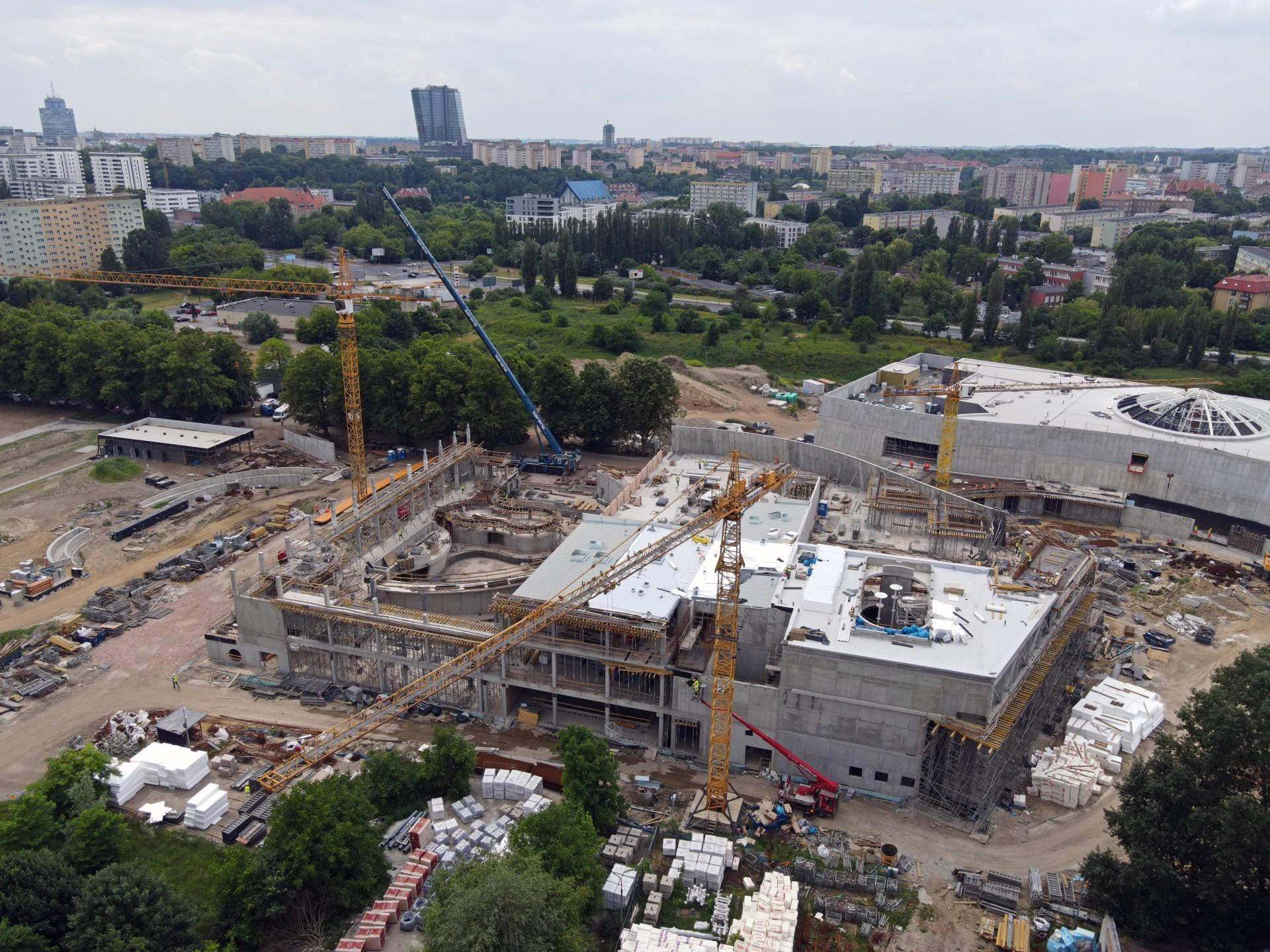 Budowa Fabryki Wody - Czerwiec 2021