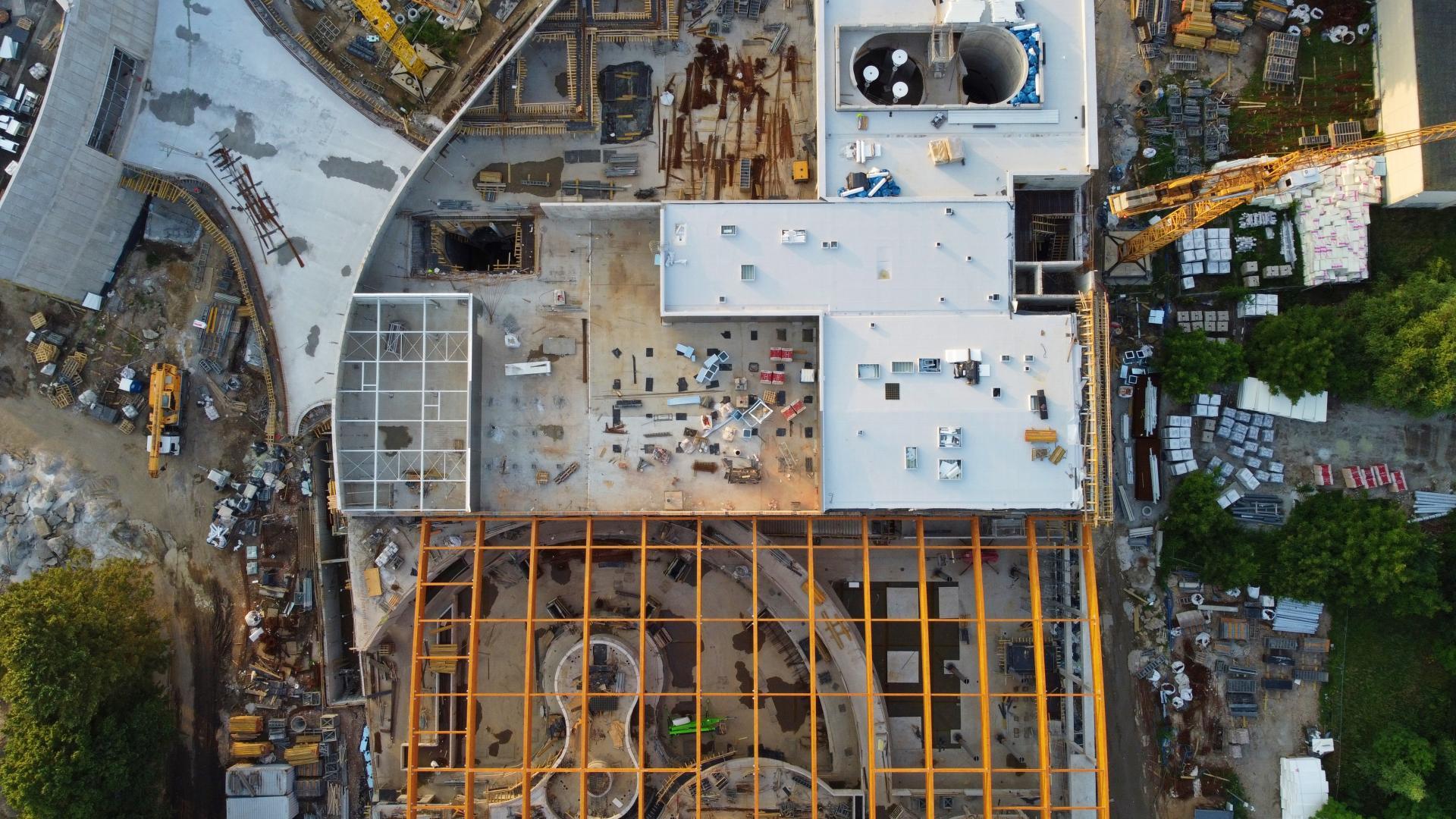Budowa Fabryki Wody - Lipiec 2021