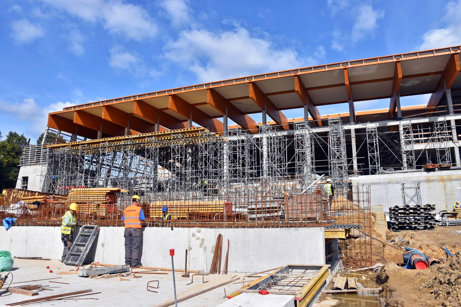 Budowa Fabryki Wody - Wrzesień 2021 (2)
