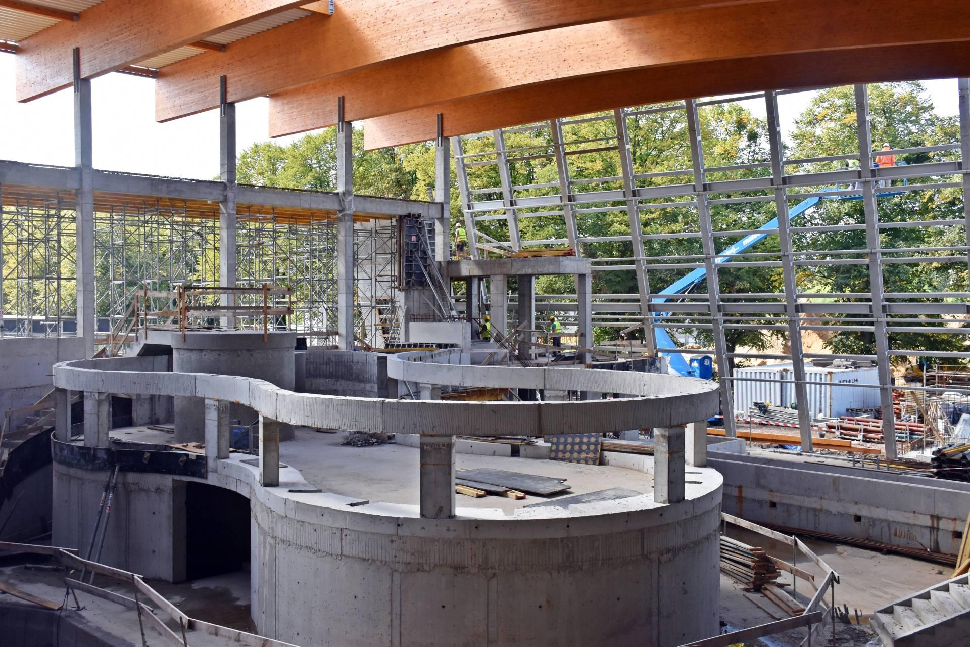Budowa Fabryki Wody - Wrzesień 2021 (7)